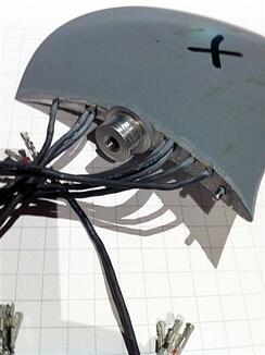 instrumented fan blade