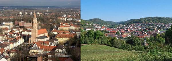 Landshut and Mulfingen, Germany